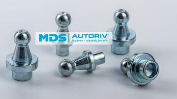 Ball stud for riveting rivet ball stud, rivet ball stud
